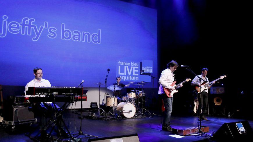 Jeffy's Band sur la scène de l'espace James Chambaud
