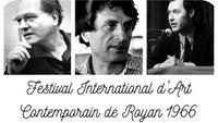 Souvenirs du Festival de Royan 1966 avec Claude Samuel