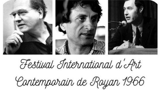 Olivier Messiaen, Iannis Xenakis et Claude Samuel au Festival de Royan