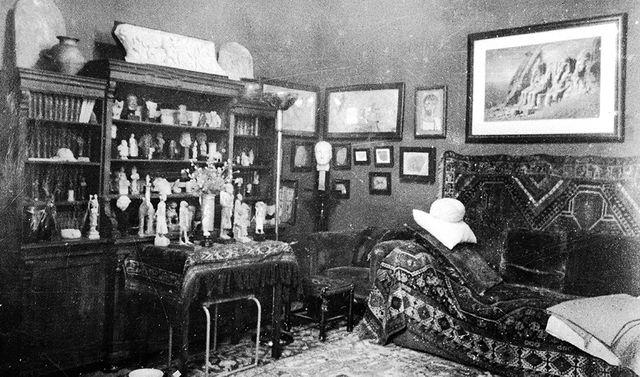 Le bureau de Freud