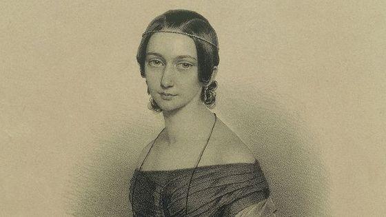 Portrait de Clara Wieck-Schumann en 1819