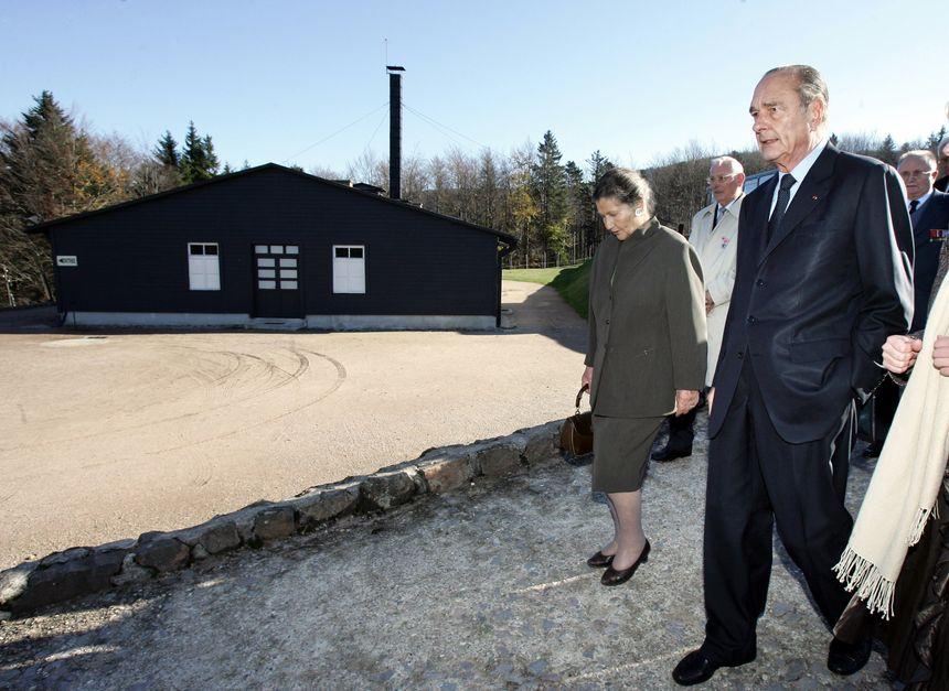 En novembre 2005, il inaugure le Centre européen du résistant déporté sur le site du camp de Natzweiler Struthof en compagnie de Simone Veil