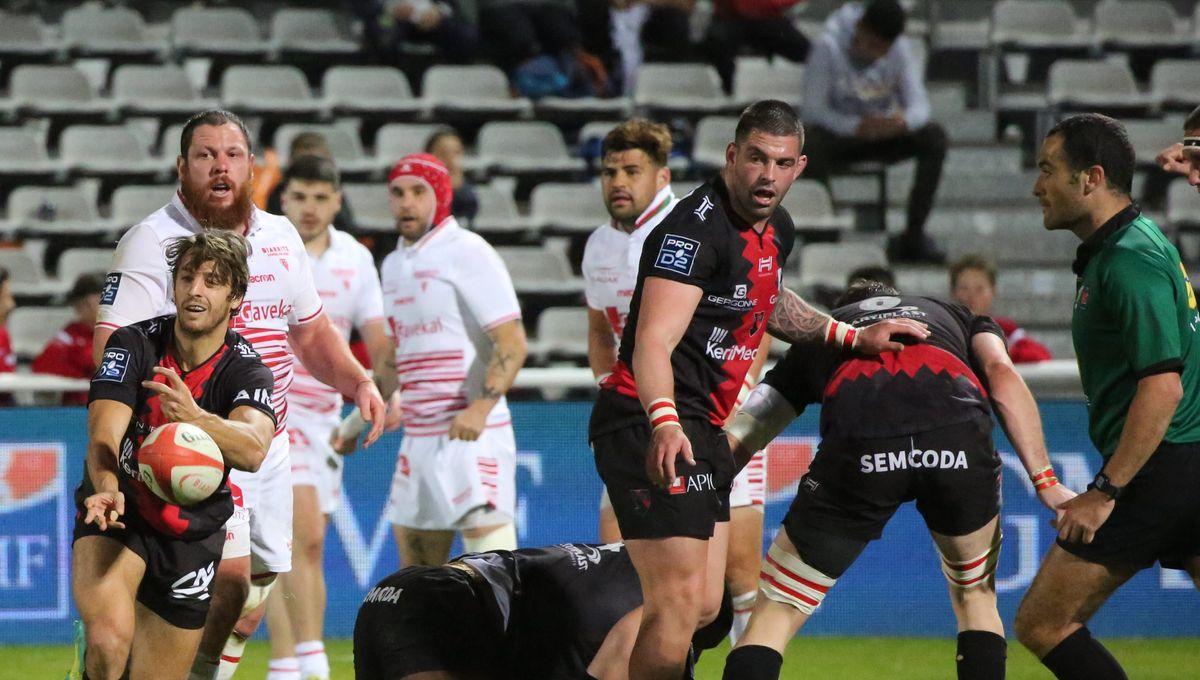 """Pro D2 : Biarritz accueille Oyonnax et espère """"ne pas être que dans la réaction"""""""
