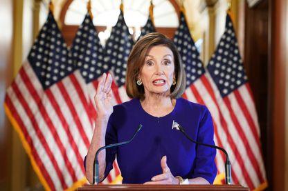 La Présidente démocrate de la Chambre des Représentants, Nancy Pelosi, annonce mardi 24 septembre, le lancement de la procédure de destitution contre Donald Trump.