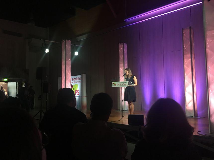 """Pour Sophie Dernois, coordinatrice nationale de Jeunes Socialiste il faut """" travailler avec toutes les personnes qui ont les mêmes valeurs"""""""