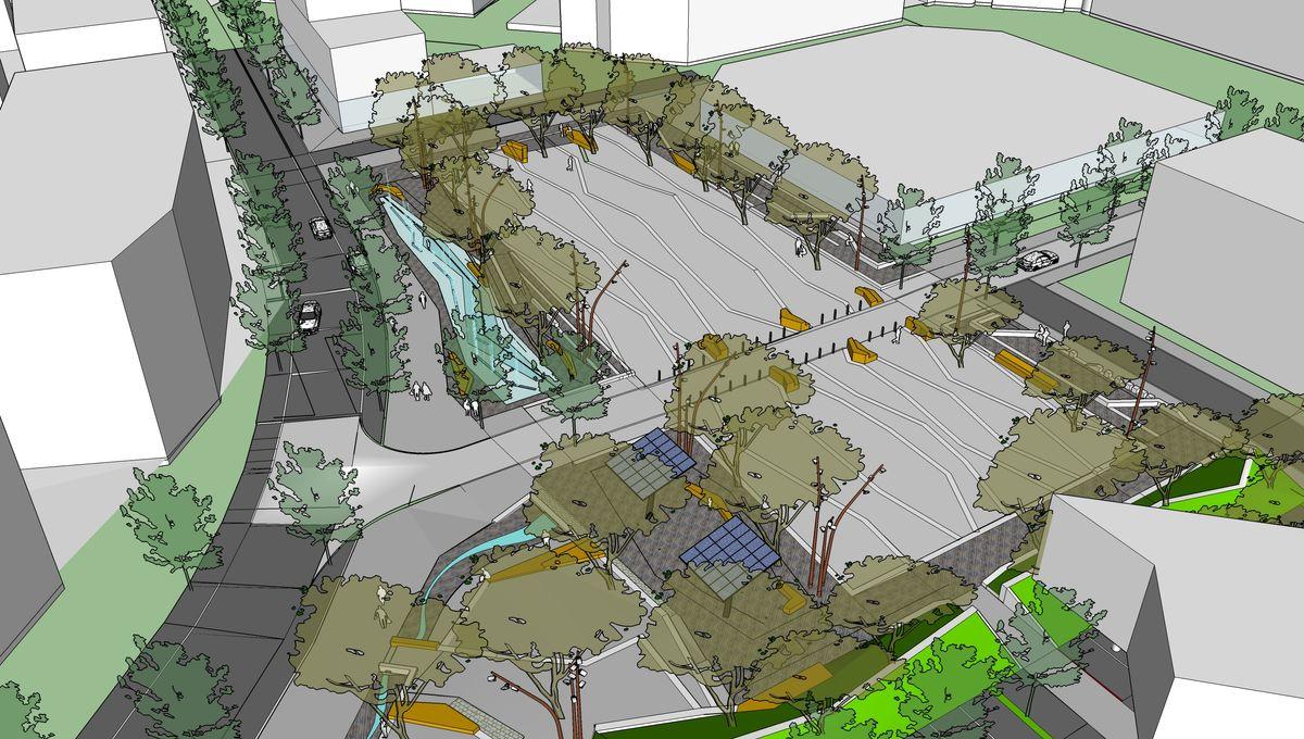 Villefontaine : la mairie présente son projet de réaménagement de la place du marché