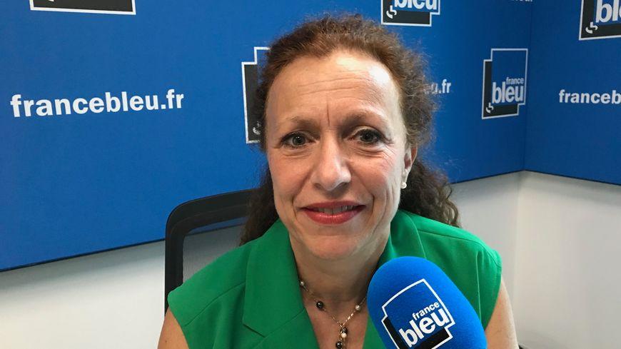 Monique Sorrentino la directrice générale du CHU Grenoble Alpes