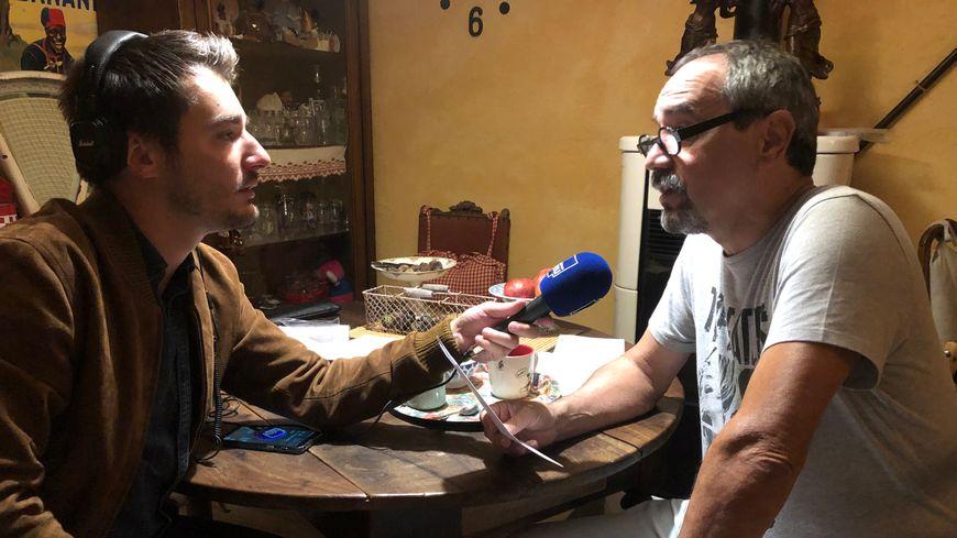 Michel avec Maxime