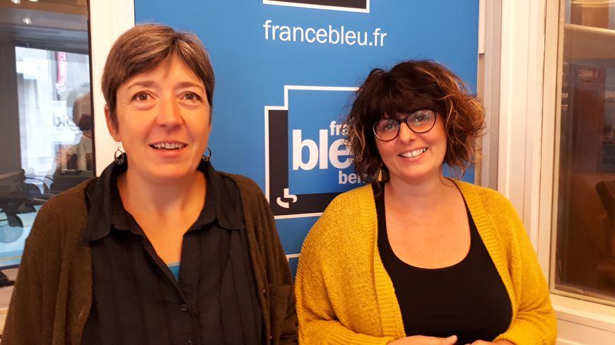 """Sarah Etiève et Amandine Divois dans """"La Vie en Bleu"""""""