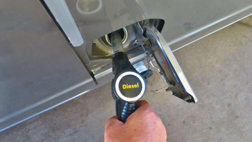 Diesel à la pompe