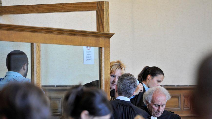 Cécile Bourgeon lors de son 2ème procès