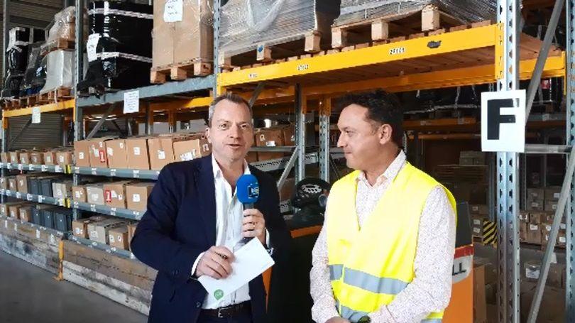 Recrutements logistique Fabrice Marion et Didier Paya