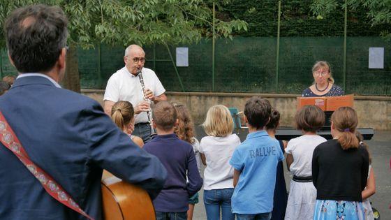 Rentrée en musique dans l'école de Marssac-sur-Tarn