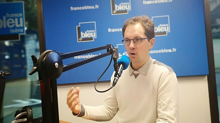 Samuel Morin, directeur du Centre d'étude de la neige à Saint-Martin-d'Hères et expert du GIEC