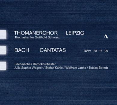 CD Bach Cantate 17 Thomanerchor Leipzig
