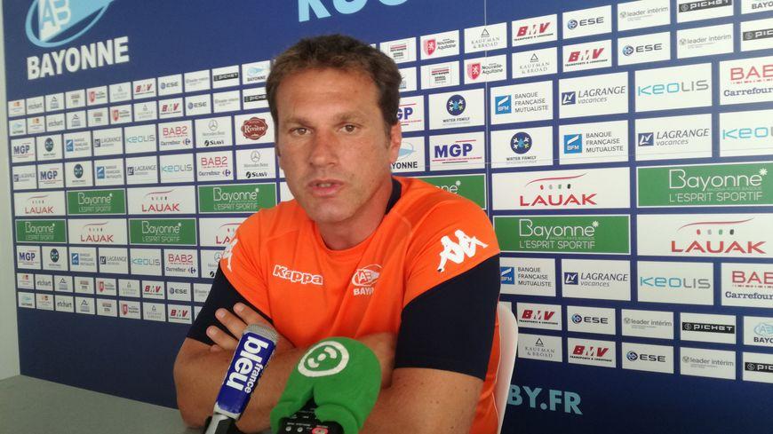 Rémy Ladauge, co-entraîneur de l'Aviron Bayonnais