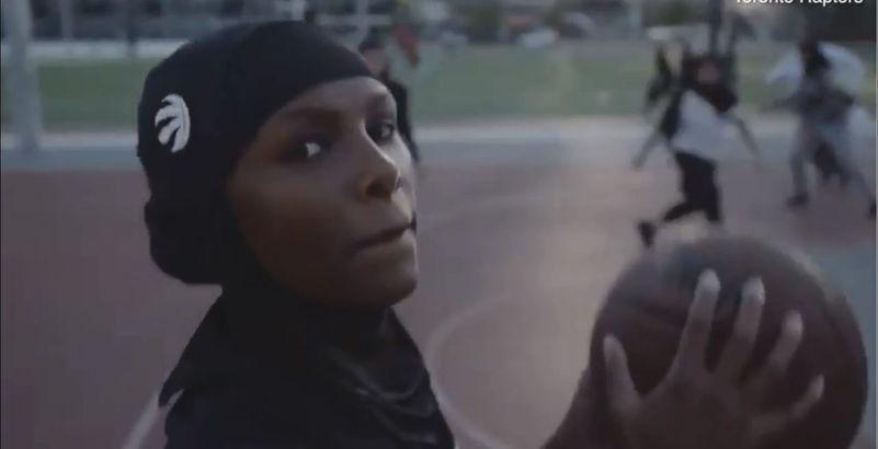 NBA : les Raptors lancent leur hijab de sport
