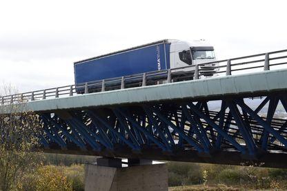 Un camion à Boulogne-sur-Mer