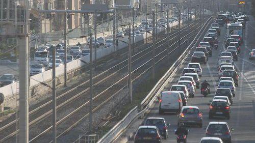 L'accident s'est produit à 9h40 au niveau de la chaussée sud de la voie Mathis.