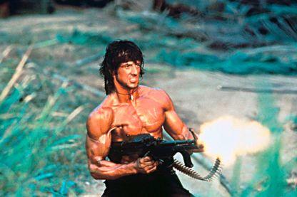 "Image tirée de ""Rambo I"" (""Premier sang"")"