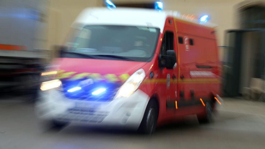 Les pompiers sont arrivés sur les lieux de l'accident vers 6h30 ce vendredi matin