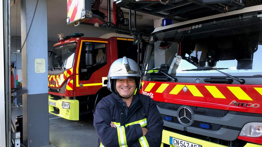 Alban Forlot chez les pompiers