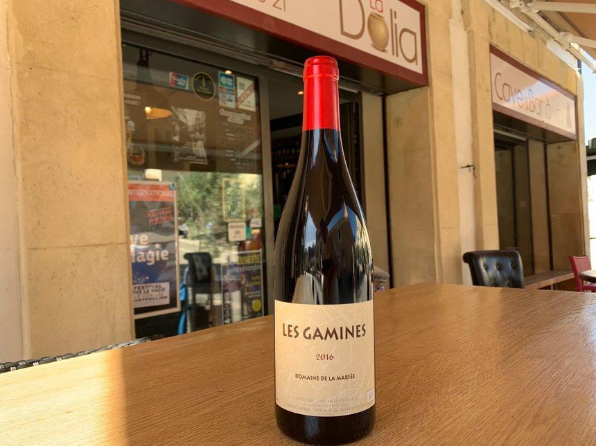 Les Gamines du Domaine de La Marfée, beaucoup de fraîcheur pour ce vin sur le terroir des Grès de Montpellier