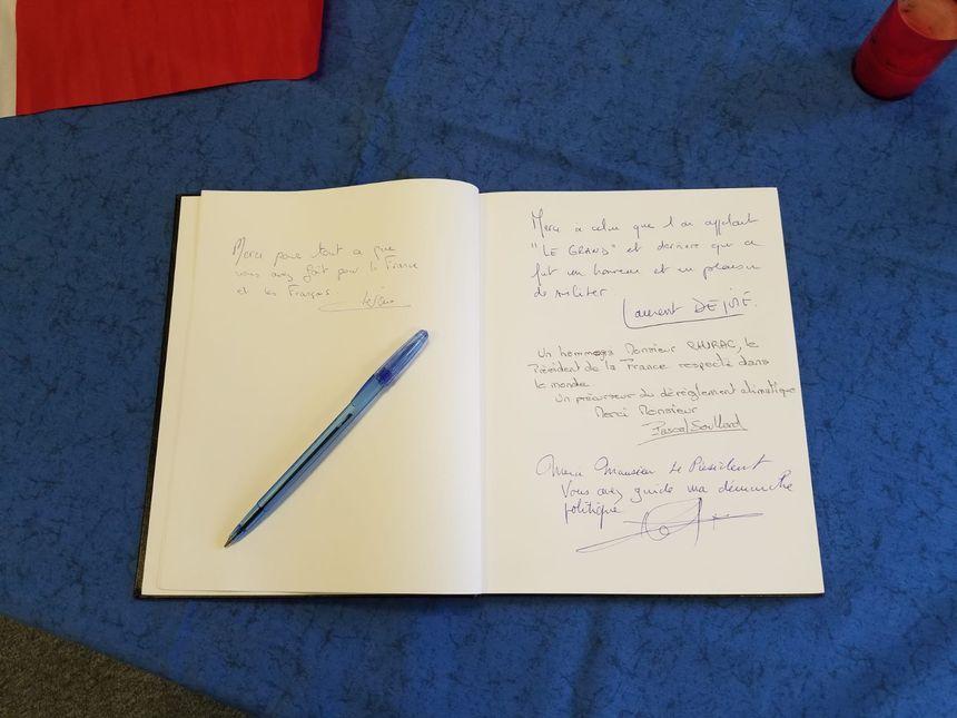 Le registre de la fédération des Républicains de Loire-Altantique