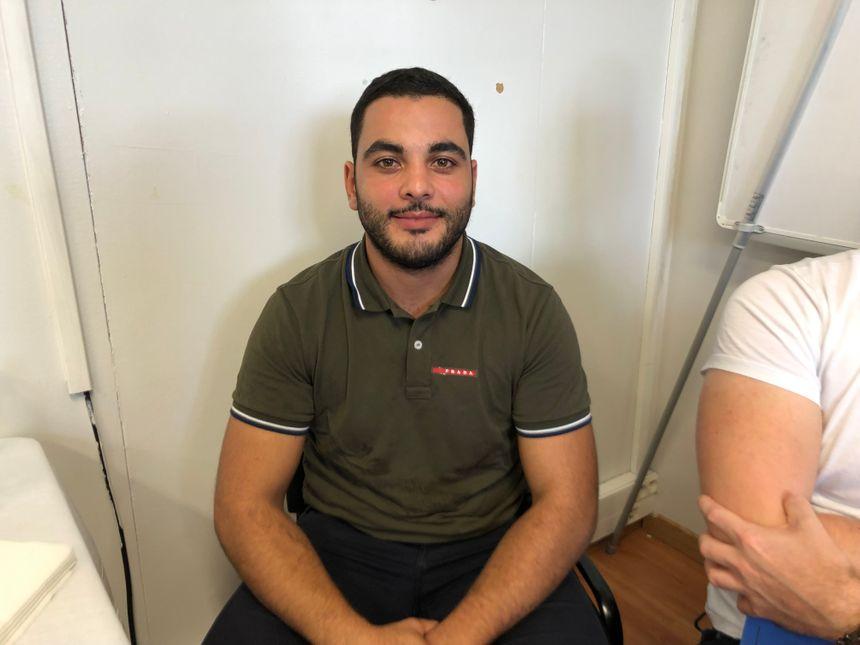 Yassin, un ancien apprenti en alternance aujourd'hui artisan