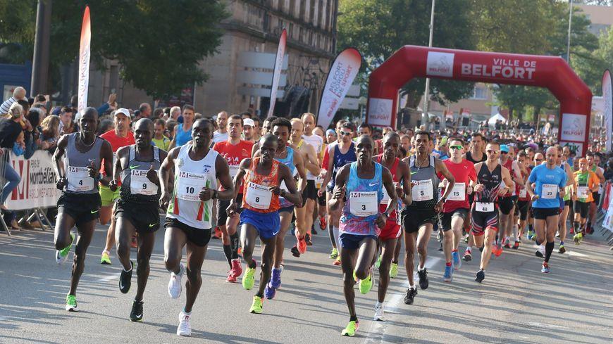 En 2017, le record du semi marathon au départ de Belfort avait failli être battu.