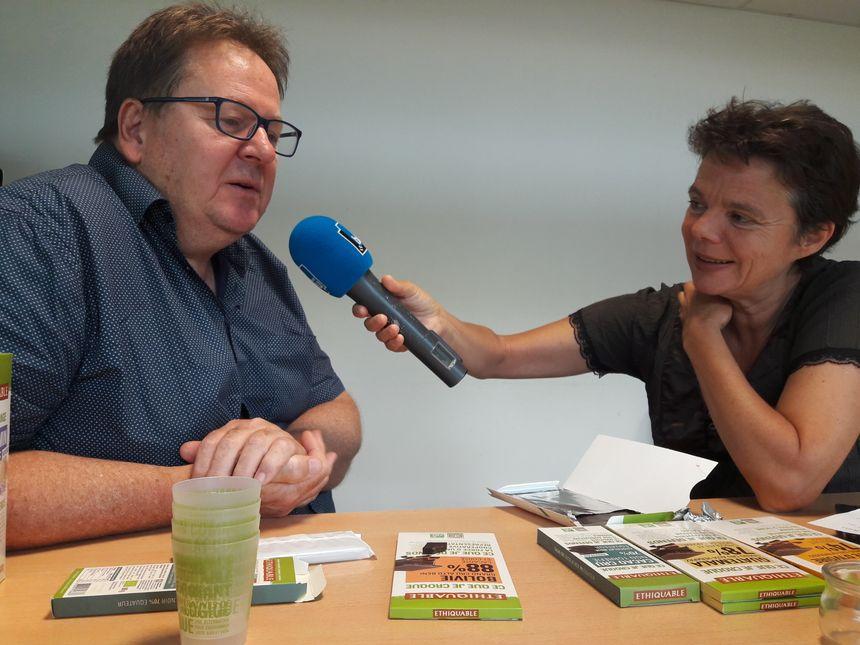 Christophe Eberhart, co-fondateur d'ETHIQUABLE