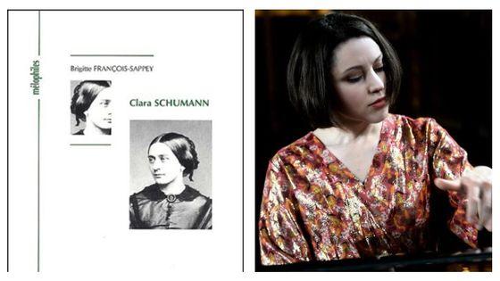 Le livre de Brigitte François-Sappey autour de Clara Schumann & Marie Vermeulin