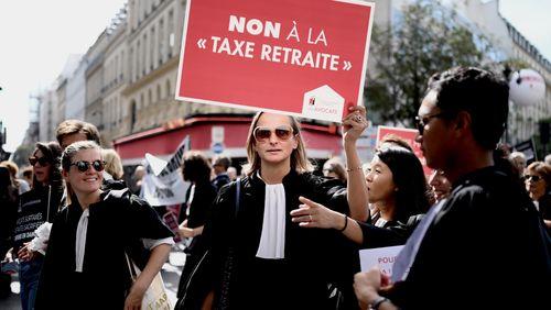 Réforme des retraites : les professions libérales font entendre leur colère