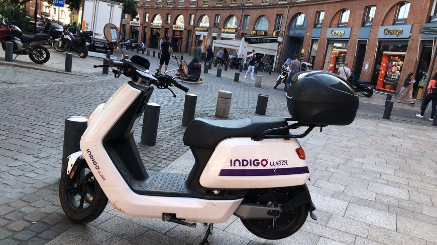 scooter Indigo Weel