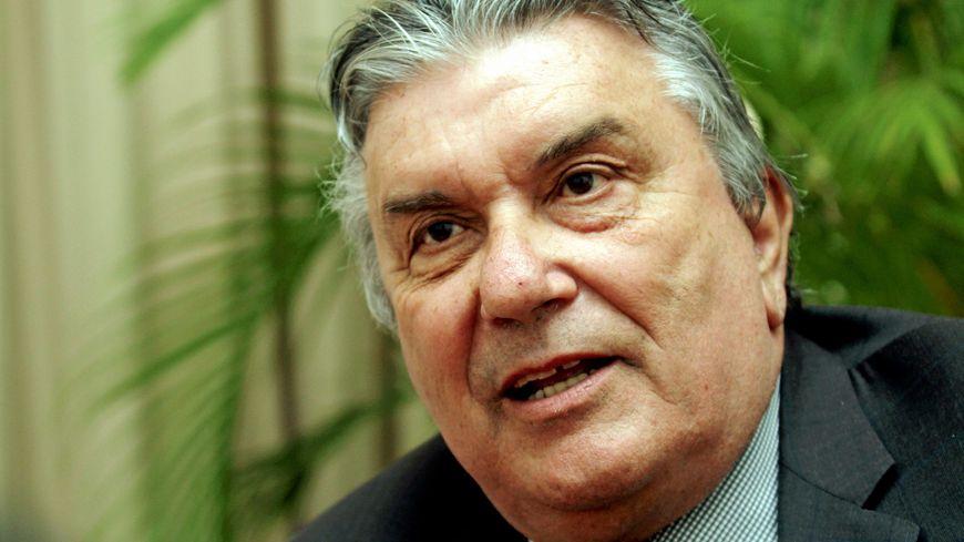 Le maire de Nîmes Jean-Paul Fournier