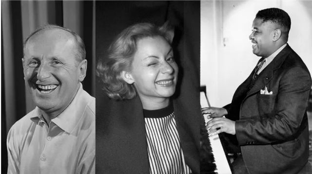 Bourvil, Arthur Tatum, Annie Cordy