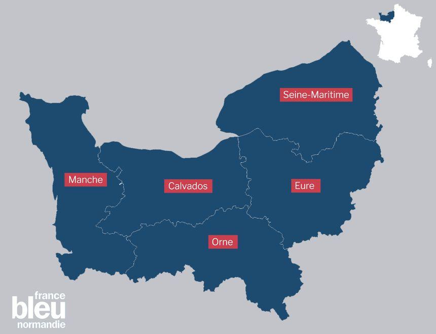 La Basse Normandie et la Haute Normandie ne forment qu'une seule grande région depuis le 1er janvier 2016
