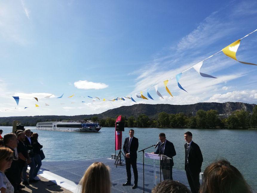 Coût du projet : 1, 5 millions d'euros financés par l'État, la Région, Valence Romans agglo, Valence et la Compagnie nationale du Rhône