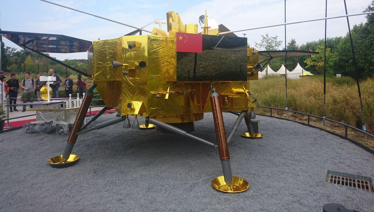 Un vaisseau chinois à la Cité de l'Espace de Toulouse, une première