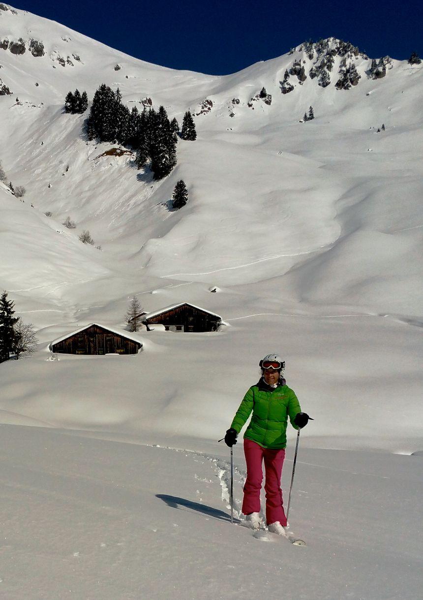 Ski nature à Praz de Lys Sommand