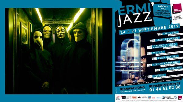 Festen, Inside Stanley Kubrick, Suite... concert live et en public depuis l'Ermitage à Paris