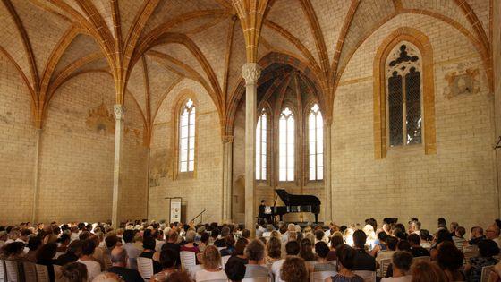 Le cloître du couvent des Jacobins à Toulouse accueille des concerts depuis 40 ans