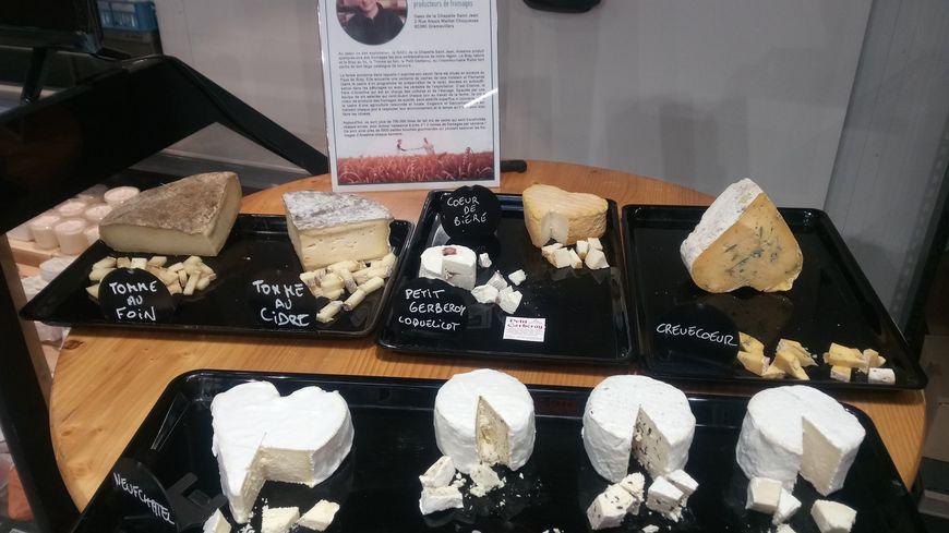 Les fromages d'Anselme Baudouin