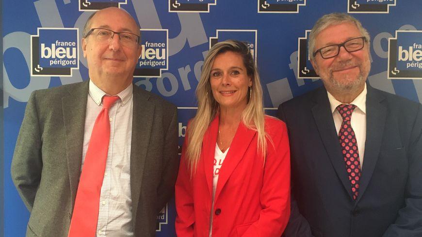 Mâitre Denis Peychez, maître Sévérenie Rose  Brousseaud et Maître Philippe Magis
