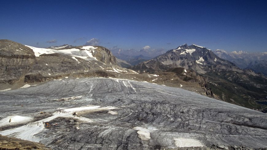 La glacier de Tignes (sept.2016)