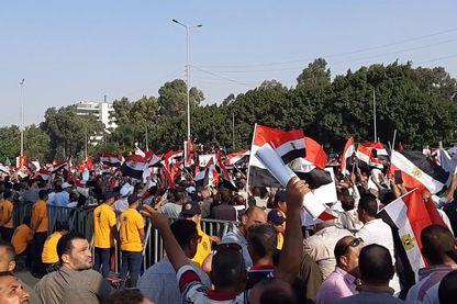 Manifestation pro Sissi au Caire