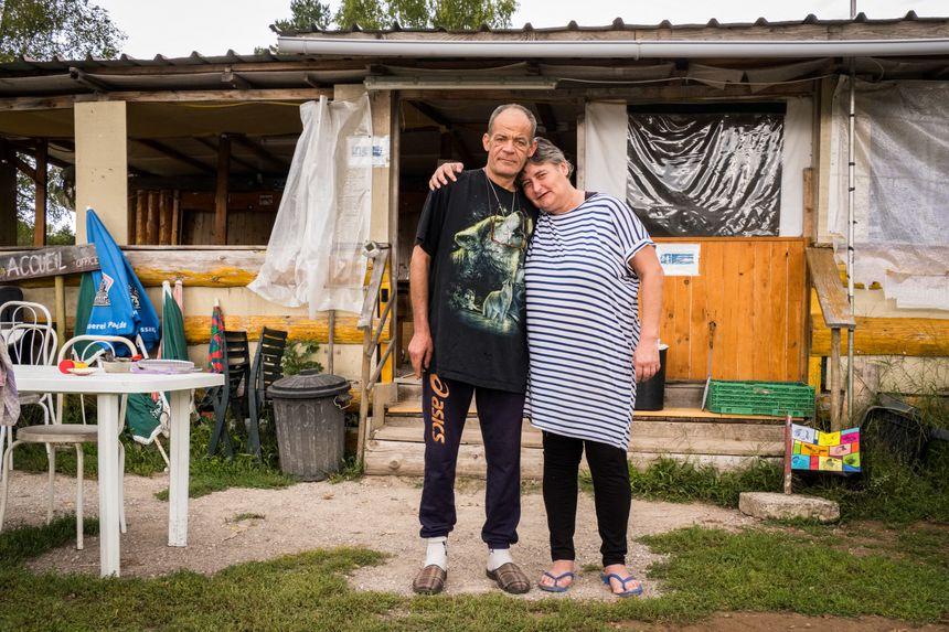 Gégé et sa compagne Isa, un peu tristes d'arrêter, mais heureux de se retrouver en couple