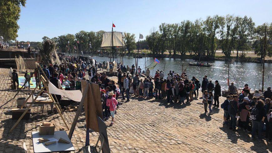 Le public est venu en nombre pour profiter de cette deuxième journée du Festival de Loire à Orléans.