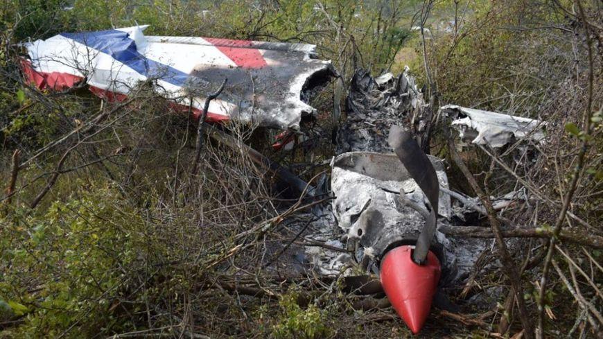 L'avion de tourisme s'est écrasé sur une colline au sud d'Albi, le pilote s'en sort indemne