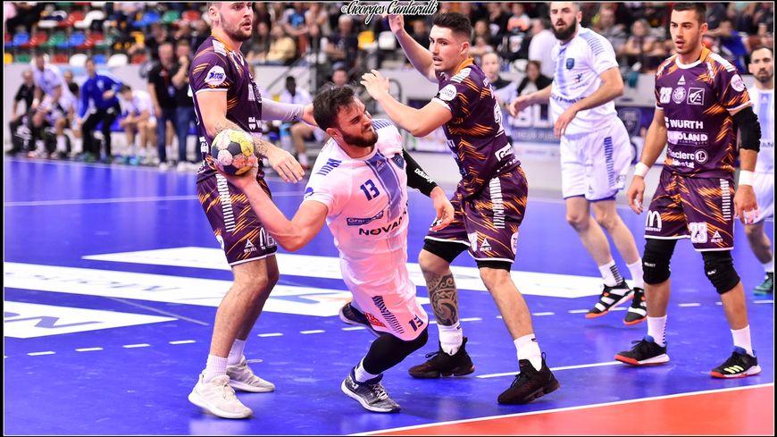 Au Grand Nancy métropole Handball, Pierre Marche apporte de la mobilité au poste de pivot